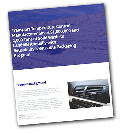 ATV Reusable Packaging Report & Case Study