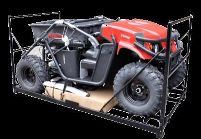 ATV on Rack